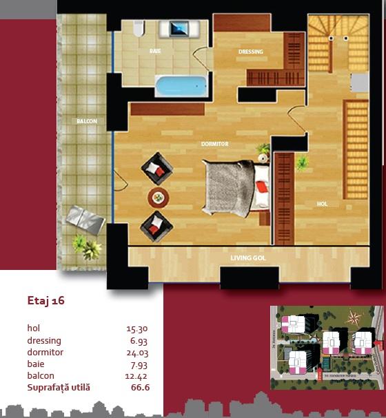 Plan Triplex 3 A